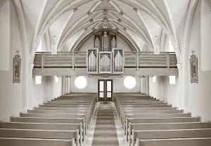 Biztató szavak a templomban