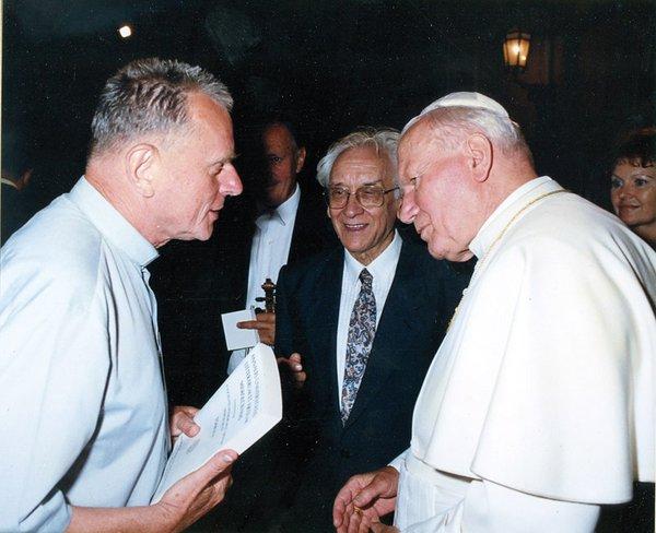 Találkozás a szent pápával, II. János Pállal