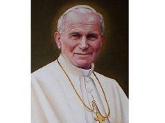 Megmenekül Szent II. János Pál szobra Franciaországban
