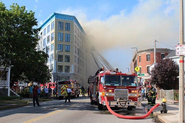 Hívás a tűzoltóságon