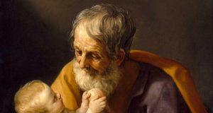 Reményik Sándor: József, az ács, az Istennel beszél
