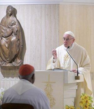 Ferenc pápa: Ne érdekből kövessük Jézust