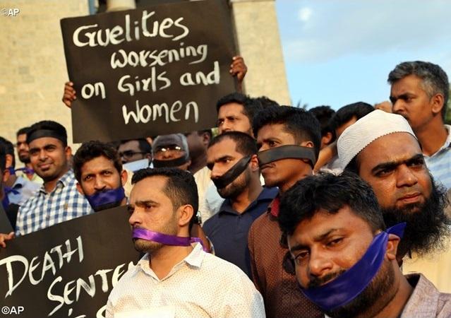 Az indiai egyház tiltakozik a nők elleni erőszak miatt