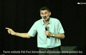 Pál Feri – 20 év után kiút az alkoholból