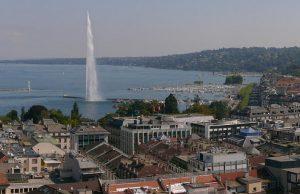 Ferenc pápa Genfbe látogatott
