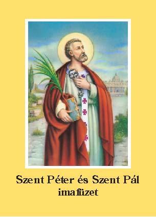 Szent Péter és Szent Pál imafüzet