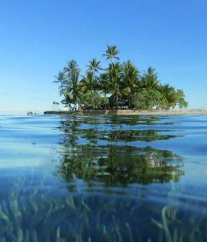 A lakatlan szigeten