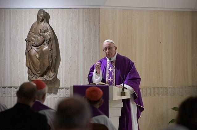 Ferenc Pápa – kérjük a szégyen kegyelmét