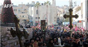 Rekordszámú zarándok érkezett januárban a Szentföldre