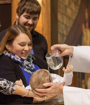 Varga Gyöngyi: Keresztelési áldás