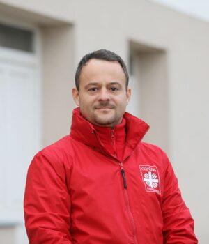 Lőrincz Attila, a Karitász győri igazgatója